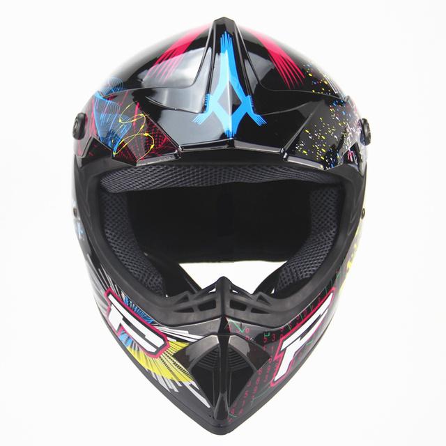 Motorcycle Helmet with Graffiti