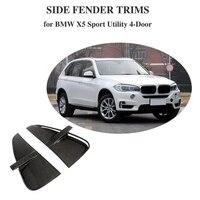 Для BMW F15 X5 2014 2018 база Sport Utility и M Sport передний бампер вентиляционные отверстия углеродного волокна автомобилей Стикеры отделочные планки