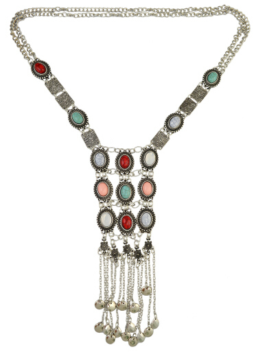 Boho Gypsy Tribal Silver...
