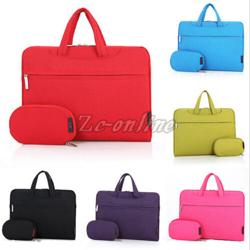 Portable Carry Shoulder Sleeve Bag Power Bag Laptop Bag for IBM HP ACER Macbook Air Pro 11 12 13 14 15 '' Free Shipping
