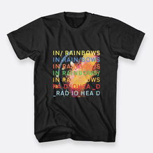 Radiohead In Rainbows Rock Black Tee Size S-3XL Mens Cotton T-shirt Fashion Men T Shirt  Normal