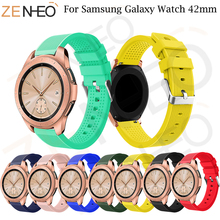 For Xiaomi Huami Amazift Bip Band Strap 20mm Silicone Replacement Watch Samsung Galaxy 42mm sport Wrist