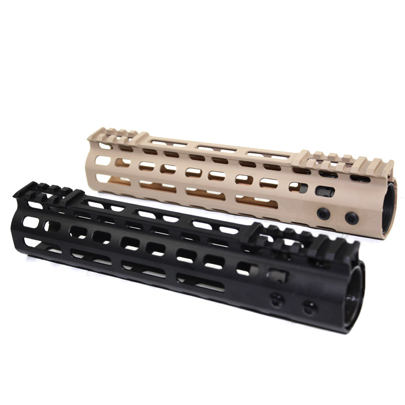 High Quality Lightweight CNC M-LOK 9 inch handguard rail one Picatinny rails system for M4 /M16 free shipping 2pcs high quality 1 2 inch shank rail