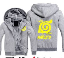 2016 New Anime Naruto Hoodies Naruto Uzumaki cosplay Costume Harajuku cartoon Sweatshirts Akatsuki Zipper Jacket 61205