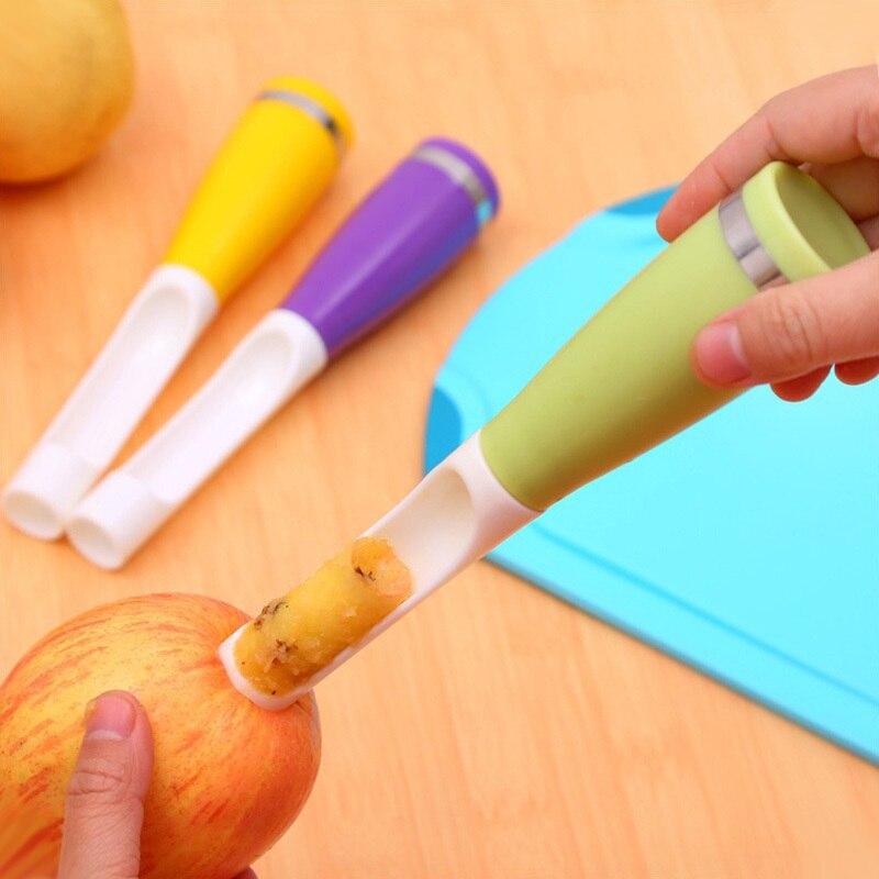 Kitchen gadgets Apple Pear Fruit&vegetable Corers Slicer Peeler Cutter Knife ho