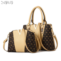 New Composite Women Bag Bolsa Feminina Women Shoulder Bag Luxury Handbags Women Messenger Bags Causal Totes Handbag Luis Vuiton