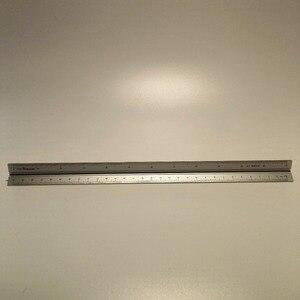 Image 2 - Алюминиевая треугольная линейка весы, 15 см, 30 см, алюминиевые 1:100   1:600 металлические весы из сплава, линейка рулетка