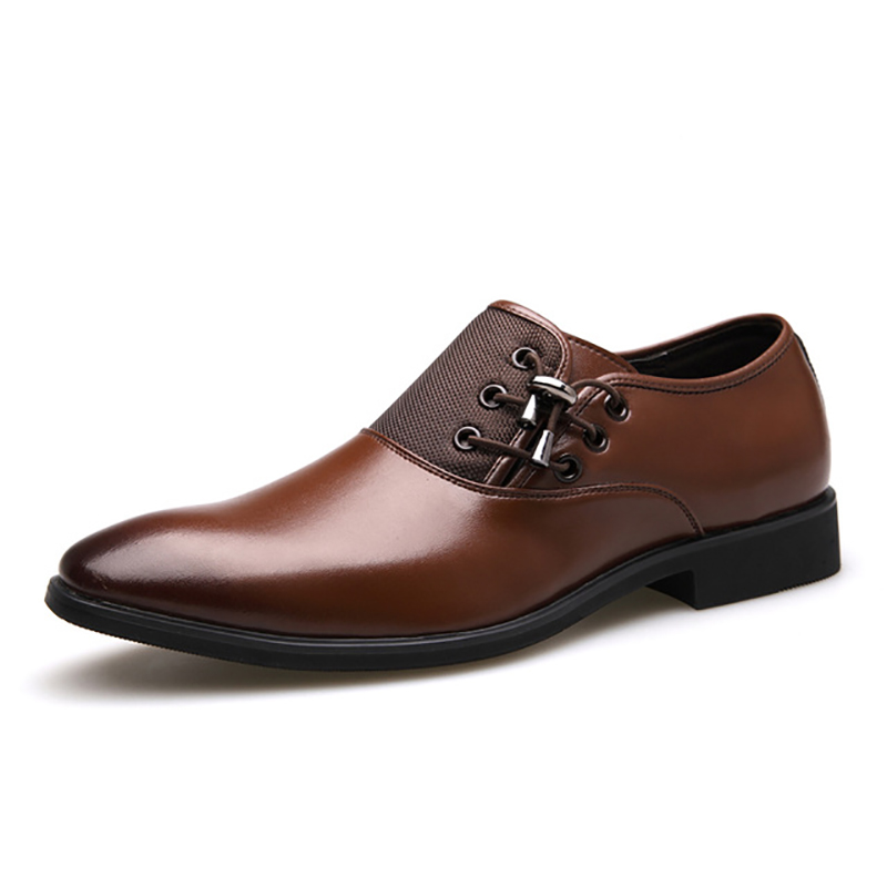 New Fashion Genuine Leather Men Casual Shoes Luxury Brand Men Shoes Leather Shoes Men High Qulaity Men Flats 30D50