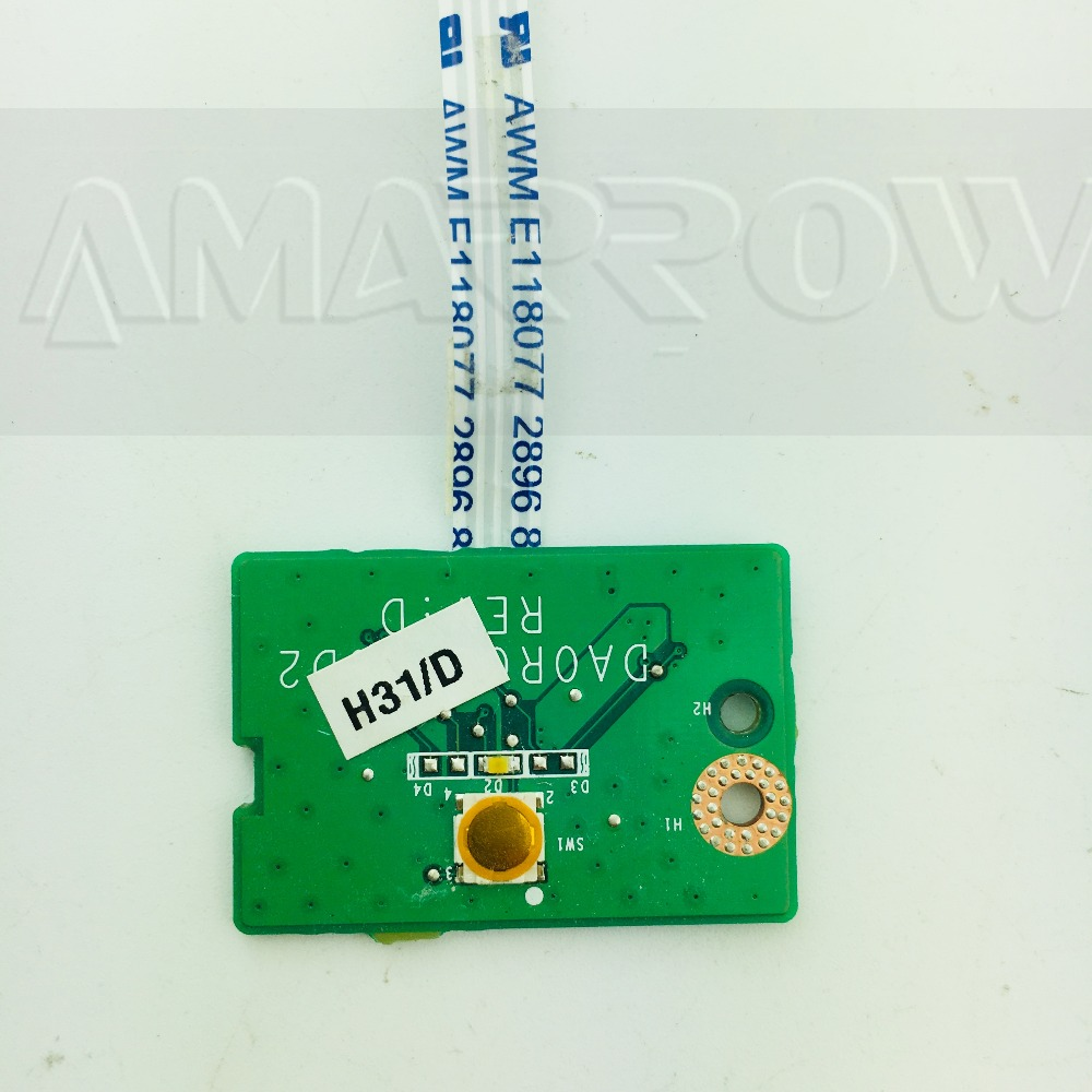 Original Free shipping for DELL N7110 Power Button Board Switch board DA0R03TB6D2