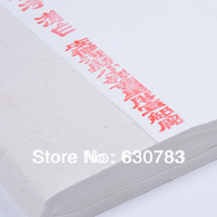 Free shipping 100pcs/Lot 100cm*50cm white chinese rice paper sheet paintings calligraphy xuan paper raw plain rice paper