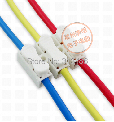 US $5.2 |3 pin push quick connect Terminal Wiring connectors-in Connectors Quick Connect Wiring on