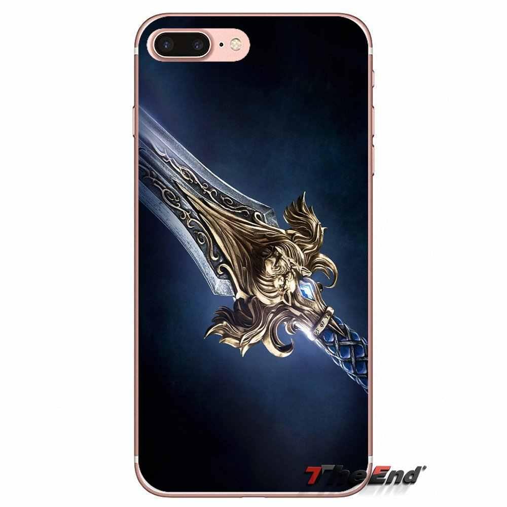 Лев World of Warcraft для спортивной камеры Xiao mi 6 mi 6 A1 Max mi x 2 5X 6X Red mi Примечание 5 5A 4X 4A A4 4 3 Plus Pro силиконовый кожаный чехол для телефона