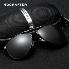 цена на Brand Designer Cool Polarized Men High Quality Sunglasses UV Protect Sun Glasses with Box