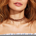 Simple Newest fashion jewelry accessories  Bohemia  Multilayer with silver bead  choker necklace for couple lovers'  N175