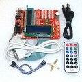Placa de aprendizagem microcontrolador PIC bordo experimento placa de desenvolvimento microcontrolador PIC 16F877A tutoriais em vídeo