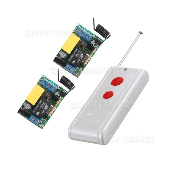 AC 220V 1 CH Mini Remote Control Switches 10A Relay Small Receiver Light Lamp LED Bulb SMD Remote Lighting Switch 315/433Mhz light lamp led bulb wireless remote control switches rf ac 220 v 10 a 1 channel transmitter with mini sizes receiver module