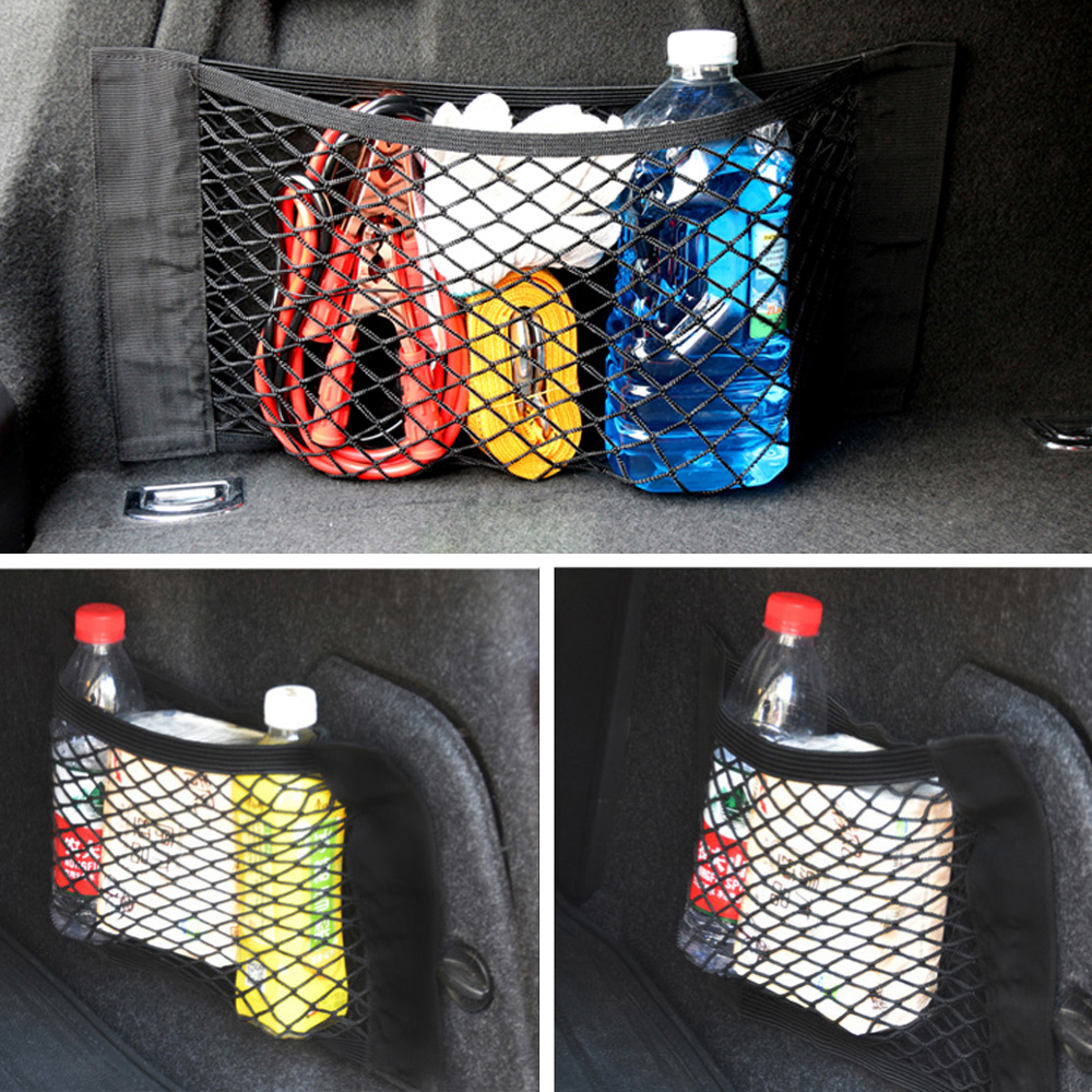 1x Car Trunk Storage Mesh Bag For <font><b>Honda</b></font> civic <font><b>accord</b></font> crv fit jazz dio city hornet Subaru Forester Impreza Outback Legacy XV WRX image