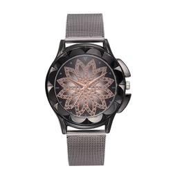 Роскошные брендовые черные женские часы модные повседневные Хрустальные платья наручные часы с сетчатым ремешком Кварцевые часы Женские