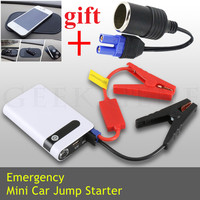New Emergency Multi Function 14000mAh 12V Car Jump Starter Mobile Power Bank 300A Peak Car Battery
