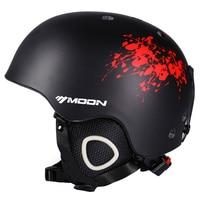MOON Men Women Ski Helmet Winter Skiing Snow Snowboard Skateboard Helmet PC EPS 52 64CM CE