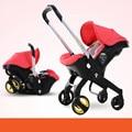 Cochecito de bebé Súper ligero plegable de múltiples funciones del bebé cesta cesta asiento 3 en 1