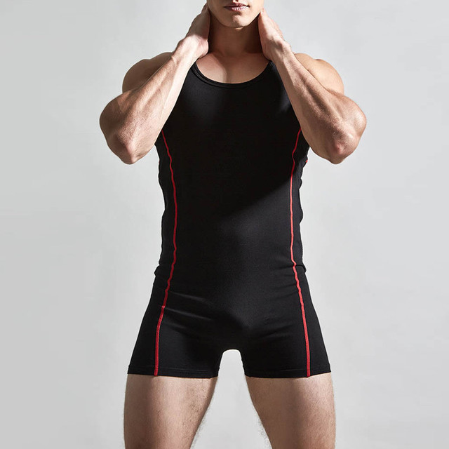 934f8784f97c4 Male Body Shaper Jumpsuit Mens Bodysuit Bodybuilding Underwear 2017  Slimming Body Vest Shapewear Corset For Men Romper