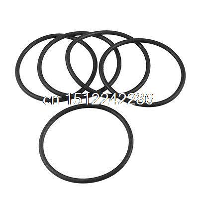 5 Pcs 68mm X 61mm X 3 5mm Industrial Rubber O Ring Oil Seal Gaskets