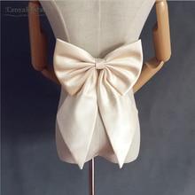 Простой сатин галстук-бабочка для свадьбы Blet Свадебные аксессуары пояса лук DY015