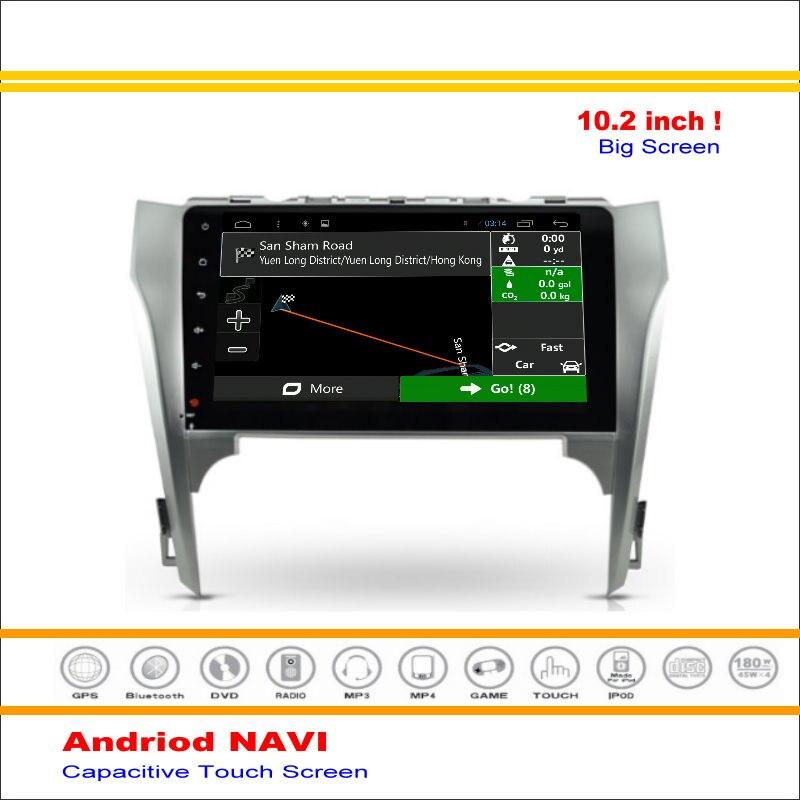 Coche Android Sistema de Navegación GPS Para Toyota Camry (europa y América) 201