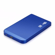 Protable 2.5 inch SATA HDD Box USB 2.0 Hard Drive Disk SATA External Storage Enclosure Box Case Support Hard Drive