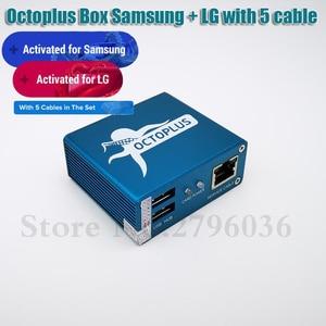 Image 5 - 100% Original 2020 ใหม่ Octopus กล่อง/ของ Octoplus กล่องสำหรับ + LG + 5 สายสำหรับปลดล็อกแฟลชซ่อมโทรศัพท์มือถือ