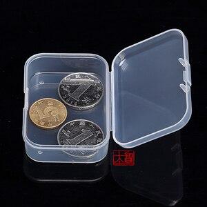 Image 4 - Darmowa wysyłka przezroczyste plastikowe małe kwadratowe pudełka, opakowanie, z pokrywką na pudełko z biżuterią akcesoria wykończenie box