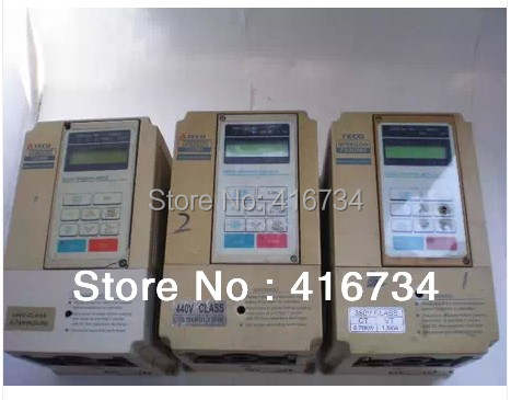 Vfd Frequency inverter second hand TECO SPEECON frequency converter 380v  0 75kw Free Shipping