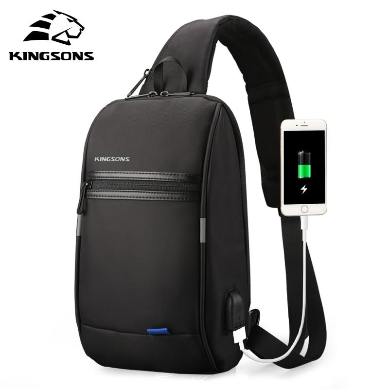 Kingsons 10.1 Inch Tablet PC Bag Business Travel Small Cross Body Bag Men Shoulder Messenger Bag For IPad Air 2/ IPad Pro 9.7