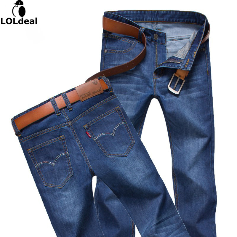 2017New Arrival True Jeans Men Simple Style Mens Jeans Blue Denim Men's Pants Regular Straight Fit Jeans Size 28-38  1 pcs jeans for men cheap china straight regular fit denim jeans pants classic blue color brand clothes size 28 to 38 bn446