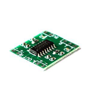 Image 2 - 100 قطعة PAM8403 سوبر مضخم رقمي صغير مجلس 2*3 واط فئة D مضخم رقمي مجلس كفاءة 2.5 إلى 5 فولت USB امدادات الطاقة