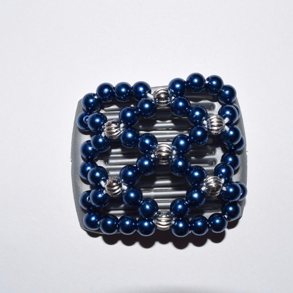 Small Size Beads: Dark Blue Beads Small Size Magic Comb 40 Pcs/lot Beautiful