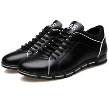 In the autumn of 2015 New England men's trend of men's shoes casual shoes leather shoes breathable four male