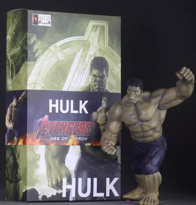 Movie Figure 23 CM Super Hero Avengers Age of Ultron Hulk PVC Action Figure Collectible Model Toy Doll Model avengers movie hulk pvc action figures collectible toy 1230cm retail box