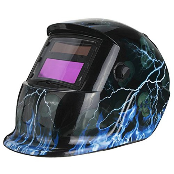 Welding mask Welding helmet Solar energy automatic Facial protection accessories Blue flash Drop Shipping
