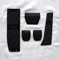 Car Footrest Gas Brake Pedal For BMW 5-series F07 F08 F10 F11 F18/6-serie F06 F12 F13/7-series F01 F02 F03/X3 X4 F25 F26 Z4 E85