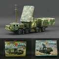 4D Plastic Assembled Radar Vehicle 1:72 Scale Puzzle Assembling Military Model Toy Gift For Children Free Shipping