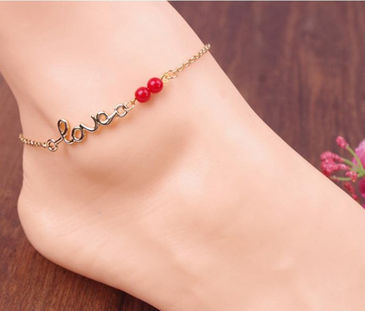 Barefoot Sandals Anklets For Women Beach Foot Jewelry Leg Chain Accessories