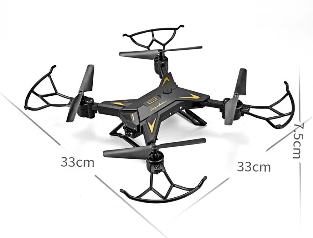 601S 1080P 5MP Quadcopter With Camera Foldable WIFI FPV Drone 20Min Flying 6-axis 4CH RC Helicopter Selfie Drones With Camera HD 27