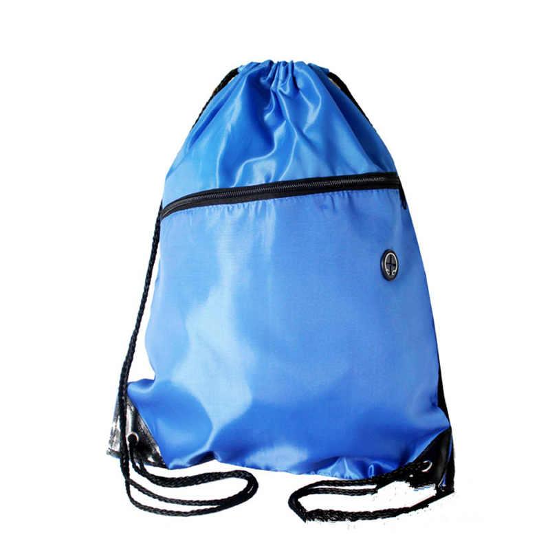 Mini sacs à chaussures en Nylon imperméables stockage sacs de sport cordon poussière sacs à dos pochette de rangement voyage en plein air Duffle sacs de sport 30