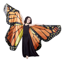 Butterfly Kids Belly Dance Costume Childrens Isis Wings for Children