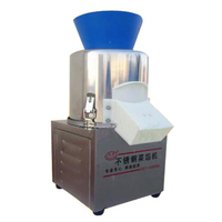 180W Commercial Electric Vegetable Cutter Vegetable Dumplings Filling Machine Chopping Machine 20 Type