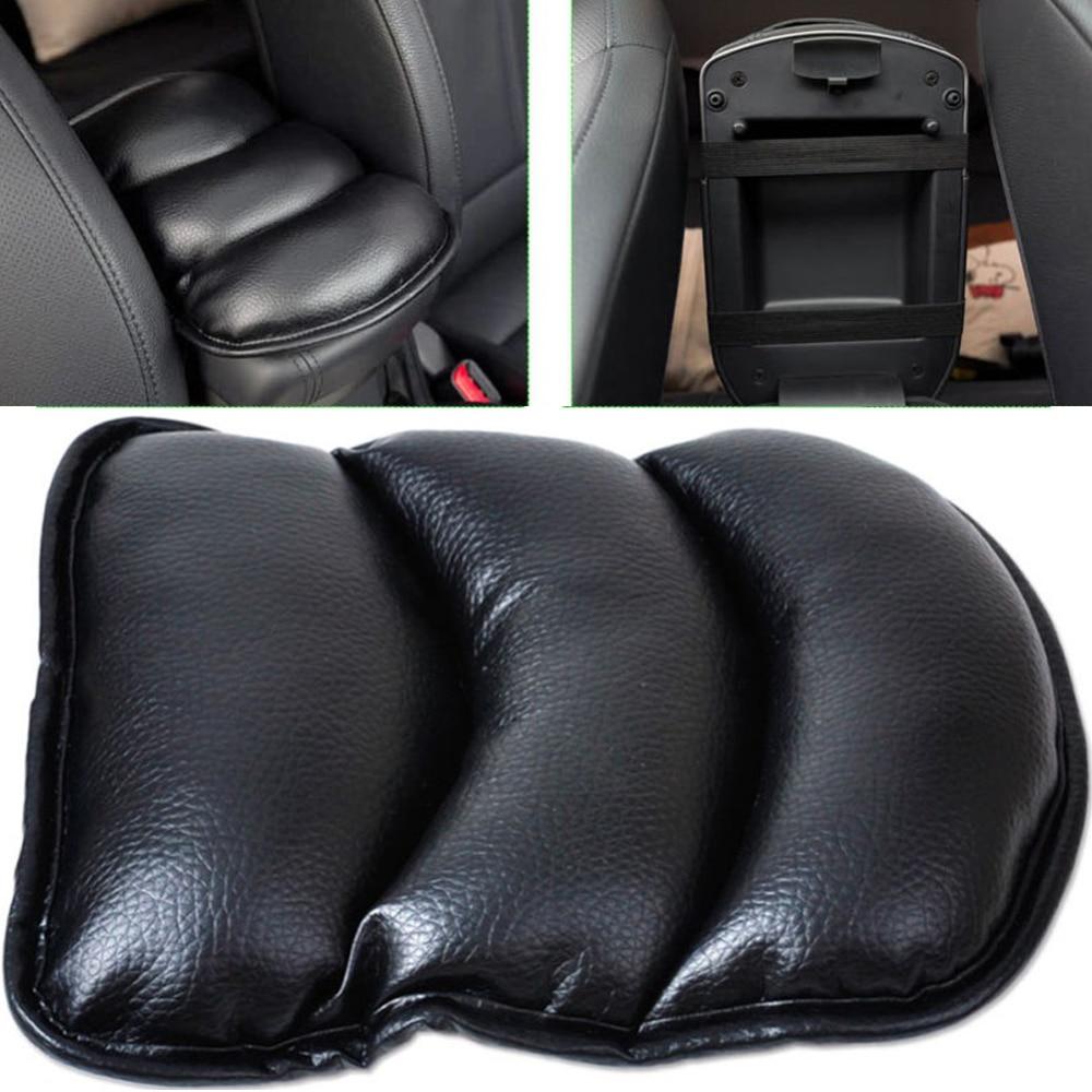 VODOOL מכונית פד מחצלת רכב מושב רך עור אוטומטי מרכז משענת משענת תיבת משענת כיסא גבוהה באיכות מגן מגן Mat