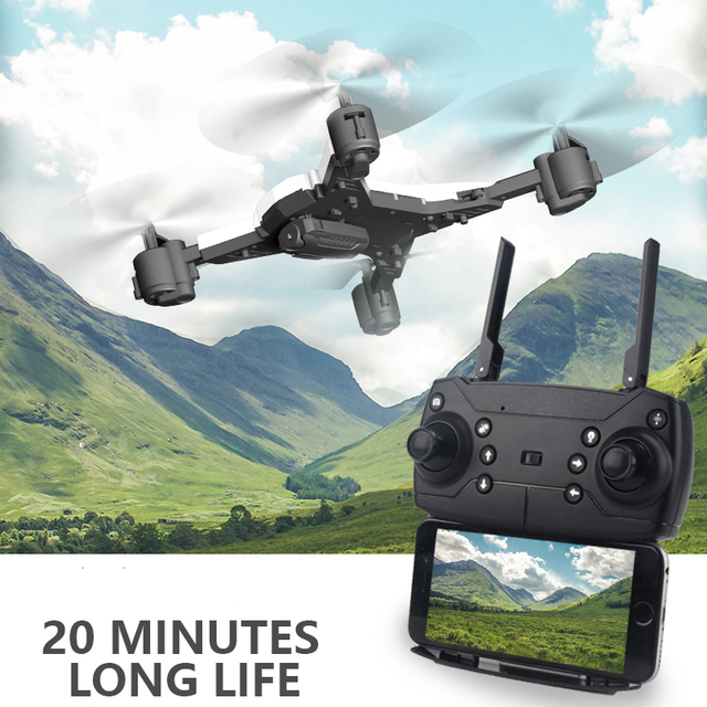 New RC Helicopter Drone with Camera HD 1080P WIFI FPV RC Drone Professional Foldable Quadcopter