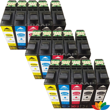 15 Compatible T2971 BLACK T2962 CYAN T2963 MAGENTA T2964 YELLOW Ink Cartridges for Epson XP231 XP431 XP241 inkjet Printer epson ink container yellow